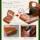 Milagro ミラグロ イタリア製ヌメ革 テラローザシリーズ・ラウンドジップショートウォレット ca-s-528 二つ折り財布